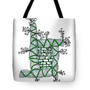Abstract Design Of Stumps And Bricks #1 Tote Bag