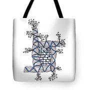 Abstract Design Of Stumps And Bricks #2 Tote Bag