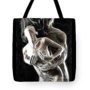 Abstract Digital Artwork Of A Couple Making Love Tote Bag