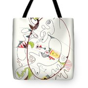 Abstract Drawing Fifty-four Tote Bag