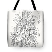 Abstract Drawing Fifty-nine Tote Bag