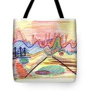 Abstract Drawing Five Tote Bag