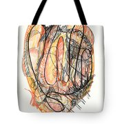 Abstract Drawing Forty-five Tote Bag