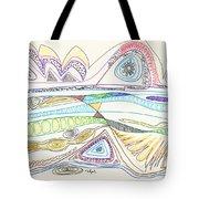 Abstract Drawing Seventeen Tote Bag