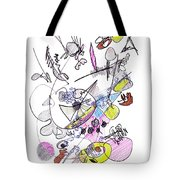 Abstract Drawing Seventy-two Tote Bag