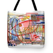 Abstract Drawing Sixty-eight Tote Bag
