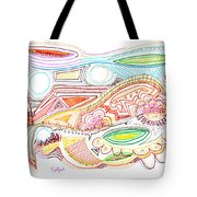 Abstract Drawing Sixty-two Tote Bag