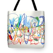 Abstract Drawing Two Tote Bag