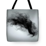 Abstract Dust Cloud Background Tote Bag