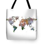 Abstract Earth Art Tote Bag