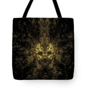 Abstract Evil Clown Portrait Tote Bag