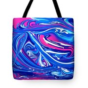Abstract Experiment Tote Bag