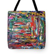 Abstract Expressionism Bvdschueren Tote Bag