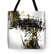 Abstract Expressionism Intensive Painting 62.102511   Tote Bag