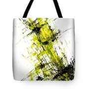 Abstract Expressionism Painting 55.102411 Tote Bag
