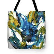 Abstract Expressionism Painting Series 715.102710 Tote Bag