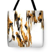 Abstract Expressionism Painting Series 734.102910 Tote Bag