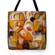 Abstract Expressionism Three Tote Bag