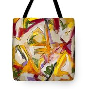 Abstract Expressionism Two Tote Bag