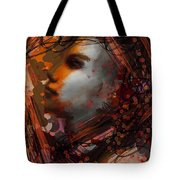 Abstract Face #0066 Tote Bag