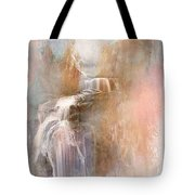 Abstract Falls Tote Bag
