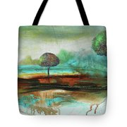 Abstract Fantasy Landscape Tote Bag
