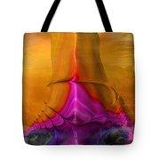 Abstract Fantasy Sailing Tote Bag