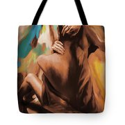 Abstract Female Back  Tote Bag
