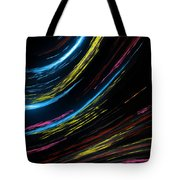 Abstract Fiber Tote Bag