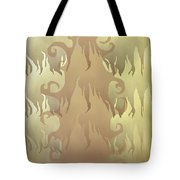 Abstract Fire Tote Bag