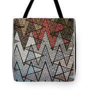 Abstract Floor  Tote Bag