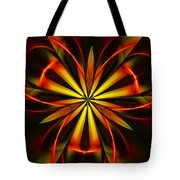 Abstract Floral 032811 Tote Bag