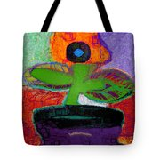 Abstract Floral Art 114 Tote Bag