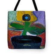 Abstract Floral Art 115 Tote Bag