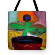 Abstract Floral Art 116 Tote Bag