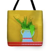 Abstract Floral Art 323 Tote Bag