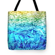 Abstract Floral Dl312016 Tote Bag