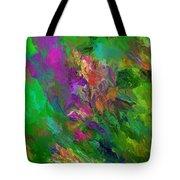Abstract Floral Fantasy 071912 Tote Bag