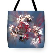 Abstract Floral Fantasy  Tote Bag