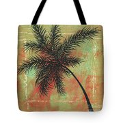 Abstract Floral Fauna Palm Tree Leaf Tropical Palm Splash Abstract Art By Megan Duncanson  Tote Bag