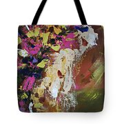 Abstract Floral Study Tote Bag
