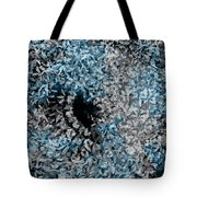 Abstract Floral Swirl No.2 Tote Bag