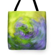 Abstract Flower-bed Tote Bag