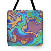 Abstract Fractal Background Tote Bag