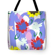 Abstract Garden #1 Tote Bag by Bee-Bee Deigner