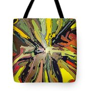 Abstract Garden Defined Tote Bag