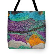 Abstract Garden Of Thoughts Tote Bag by Julia Apostolova