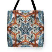 Abstract Geometric Structures Tote Bag