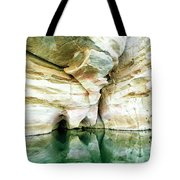 Abstract Gorge Tote Bag