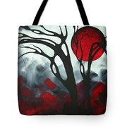 Abstract Gothic Art Original Landscape Painting Imagine I By Madart Tote Bag